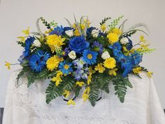 Your place to buy and sell all things handmade Casket Flowers, Grave Flowers, Cemetery Flowers, Snowflake Wreath, Floral Wreath, Father's Day Flowers, Pallet Wall Hangings, Casket Sprays, Cemetery Decorations