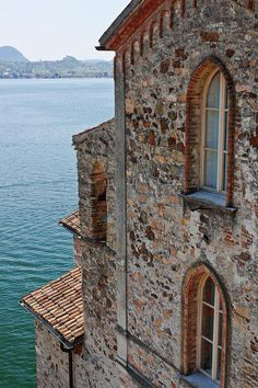 Morcote, Switzerland on Lake Lugano