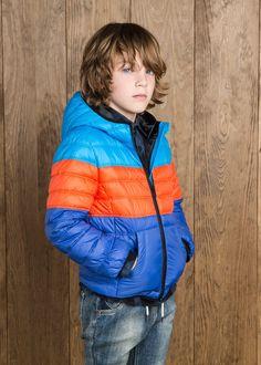 NEW - Driekleurige waterafstotende jas