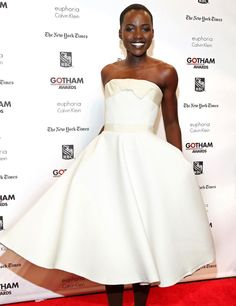 Lupita Nyong'o. Let the insiration flow. #obsessedwiththisgirl