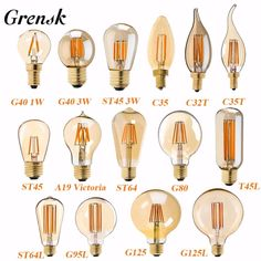 Quality LED Lamp Dimmable Filament Bulb Gold Edison Retro LED Light Bulbs String Bulb with free worldwide shipping on AliExpress Mobile