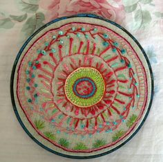 Free form embroidery by PeregrineBlue