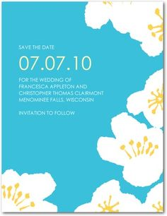 Save the dates... Wedding Paper Diva's