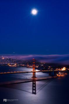 Shadow of Golden Gate Bridge by Kenji Yamamura on 500px