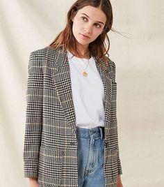 How to Wear Plaid Like a Fashion Girl via @WhoWhatWear