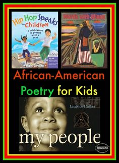 Discovering The World Through My Son's Eyes: African-American Poetry for Kids African American Poems, American Poetry, American Children, Poetry Books For Kids, Poetry Unit, Kid Books, Positive Books, Poetry Lessons, Teaching Reading