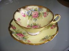 Vintage E B Foley Tea Cup and Saucer cup and saucer