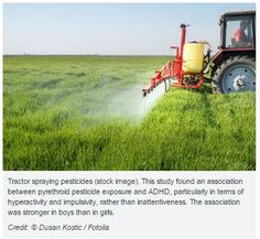 Study Links Exposure to Common Pesticide with ADHD in Boys-pinned by @PediaStaff – Please Visit ht.ly/63sNtfor all our pediatric therapy pins
