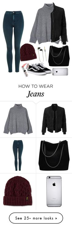 """Everything goes"" by mshlychenko on Polyvore featuring Topshop, Gucci, Dr. Martens, LE3NO, Kreafunk and Ciaté"