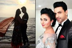 Divyanka Tripathi and Vivek Dahiya Pre Wedding Poses, Pre Wedding Photoshoot, Wedding Ideas, Photo Poses, Photo Shoot, Must Have Wedding Pictures, Bridal Outfits, Bollywood Fashion, Cute Couples