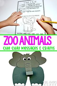 Zoo Animals unit packed full of resources! Engaging and fun activities. Chit Chat messages, close reading passages, crafts, and more!