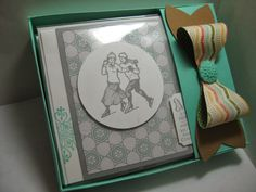 Goin' Over The Edge: Need a great gift idea? Here's a card holder tutorial