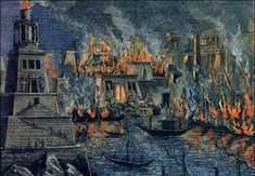 Mary Ann Bernal: The destruction of the Great Library of Alexandria...