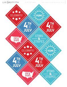 http://blog.worldlabel.com/2015/kids-fourth-of-july-celebration-printables-and-labels.html