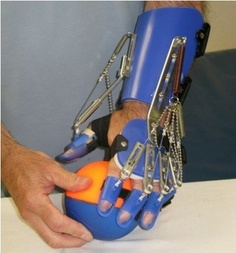 Saebo Flex. Enables users to grasp and release. I have seen this work wonders!!!!