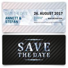 save the date karten - kalenderdatum #savethedate #hochzeit, Einladungen