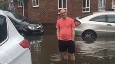 Shocking footage of a flooded residential road in Barking, UK . The video, filmed on Felton Road by Jodie Rose, shows houses are inundated with floodwater. Flooding water carries all kind of diseases. It will contaminate your properties ,cars and equipments. To decontaminate and fully disenfectant all this.. To all insurance,private owners and lost adjusters- We provide a touch-less disinfectant services to all kind sectors.call 07932730499-www.sanondaf.co.uk