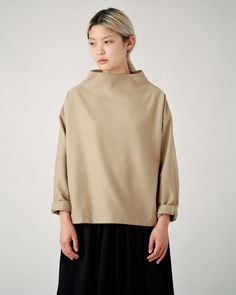 Article N°96 Large Neck Top