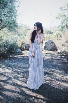 Look effortless and free-spirited like Mel Denisse with this maxi dress, on sale now! Receive an additional 50% off.