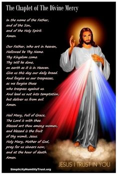 Interactive Chaplet of The Divine Mercy - Start. In the name of the Father, and of the Son and of the Holy Spirit.  Our Farther ... Hail Mary...
