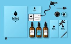 Mo61 Perfume Lab by LΛNGE & LΛNGE, via Behance
