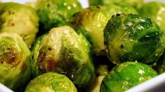 Roasting is one of the best ways to bring out the delicious nutty flavors in Brussels sprouts—plus it's SO easy. Here's the best way roast brussels sprouts in the oven and a few ways to insure that your Brussels get as crispy as possible. Vegetable Side Dishes, Vegetable Recipes, Vegetarian Recipes, Cooking Recipes, Healthy Recipes, Quick Recipes, Healthy Snacks, Veggie Side, Vegan Dinners