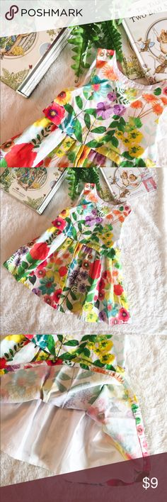 Adorable Cherokee Sundress 18M Adorable floral dress that is lined and has an elastic band. A compliment magnet dress! Prices are already low- bundle for extra savings! 🌷 Cherokee Dresses Casual