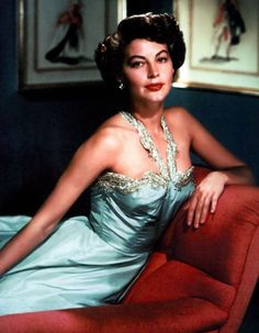 Ava Gardner. Did you know that Gardner's first husband was Andy Rooney in 1942...go figure...?