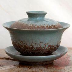 155ml Celadon Stoneware Gaiwan - FREE SHIPPING