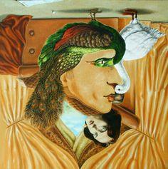 OSCAR WILDE: Un retrato de Oscar Wilde. En realidad, se trata de un autorretrato de Igor Lysenko que, al girarse nos muestra al autor de El retrato de Dorian Grey. Image Illusion, Illusion Art, Dorian Grey, Surprise Pictures, Art Doodle, Hidden Face, What Do You See, Magic Art, Wedding Quotes
