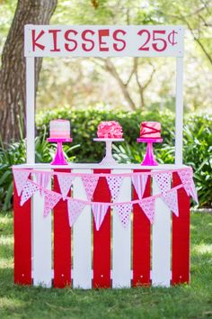 Kissing booth! Hugs & Kisses Valentine Playdate Party via Kara's Party Ideas KarasPartyIdeas.com Cake, printables, decor, tutorials, desserts, banners, favors, food and more! #xoxo #valentineplaydate #valentineparty #hugsandkisses #hugsandkissesparty #valentinesdayparty #valentinesday #valentinesdaypartyideas #karaspartyideas (6)