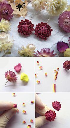DIY Polymer Clay Earrings | Мастер-класс по созданию сережек из полимерной глины
