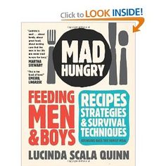 even though there is only one man in our house, we LOVE this cookbook.  yum!