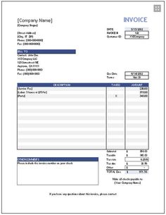 sample of invoice template for word kooliving financial