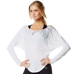 Take your look from studio to street with the all-new Stylin' Long Sleeve Zumba Tee. It's the perfect piece to layer over the Don't Leave Me Hangin', Bra after class. Now shake out your hair, spritz on your perfume and go from workout to work it in no time flat! You've got big plans, girl! You've got your favorite Zumba® class in the AM and a lunch date to follow. - See more #zumbawear at…