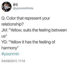 #Yoonmin#Yellow♡