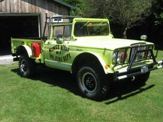 Jeep Fire Truck...considering the lime green.