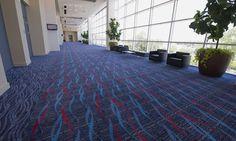 Arkansas Statehouse Convention Center - I spy Milliken Carpet on that floor!
