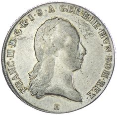 Kronentaler 1795 H Silber,