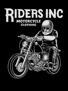 Two artworks I did for Riders.