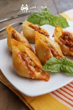 Cocina – Recetas y Consejos Pasta Recipes, Cooking Recipes, Recipes Dinner, Cannelloni, Friend Recipe, Cooking Supplies, Best Italian Recipes, Mozzarella, Ricotta