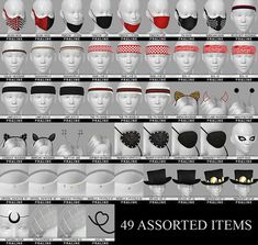 """pralinesims: """"All accessory pieces that can't be really categorized, all in one place! I hope you will enjoy this random and miscellaneous collection of CC, all improved with new thumbnails, swatches,. Los Sims 4 Mods, Sims 4 Game Mods, Sims Four, Sims 4 Mm, Sims 4 Mods Clothes, Sims 4 Clothing, Vêtement Harris Tweed, Sims 4 Piercings, Sims 4 Cc Eyes"""