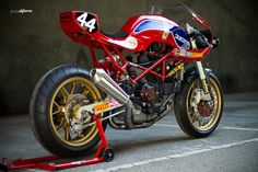 motorcycles-and-more:  Ducati monster extreme custom