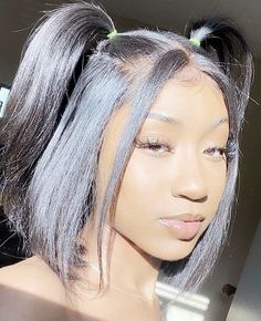 New Arrival Arabella Human Hair Bob Wig Side Part Straight Inch Lace Frontal Short Cut Wig Density For Sale Cute Curly Hairstyles, Black Girl Braided Hairstyles, Baddie Hairstyles, Curly Hair Styles, Natural Hair Styles, Wedding Hairstyles, Short Straight Hairstyles, Indian Hairstyles, Girls Natural Hairstyles