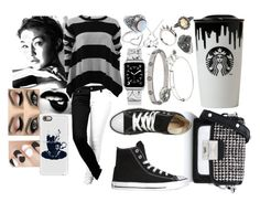 """""""Dark Star"""" by sophia-pawz ❤ liked on Polyvore featuring Cartier, Jordan Askill, Alexander McQueen, Alex and Ani, Casetify, Karl Lagerfeld, Band of Outsiders, Converse, STELLA McCARTNEY and Rock 'N Rose"""