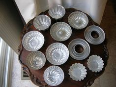 Aluminum Jello Molds Six Styles Two of Each by ellesh71 on Etsy, $10.00