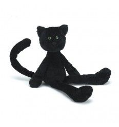 Peluche Chat Chimboo noir