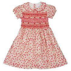 Floral Print Toddler Dress.