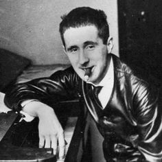 """Who is?…Bertolt Brecht (1898 – 1956)"" PerformerStuff.com #theatre #thespians #actinginspiration #lists #actingtips #performing #theater #musicaltheatre"