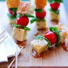 Panzanella Salad Appetizer Bites